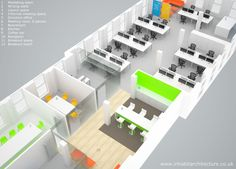 the primary work space offers flexibility to cater for future business growth