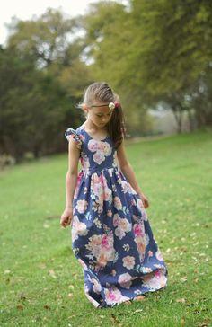 Vestido Floral niñas vestido floral niño vestido floral | Etsy