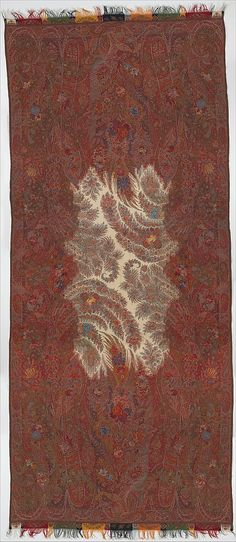 Shawl, 1849, French