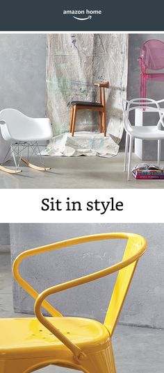 Sit in style with our favorite statement chairs.