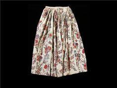 India print Petticoat 1750