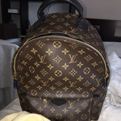 b5ee4fbc8538 AUTHENTIC Louis Vuitton Palm Springs Backpack MM! This is in amazing  condition. Gorgeous backpack