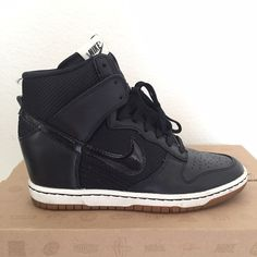 Nike Dunk Sky Hi Mesh In excellent condition. Wore only a couple of times. narrow fit. Nike Shoes Sneakers