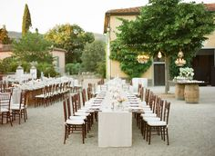 Jewish Wedding in Tuscany featured on Style Me Pretty