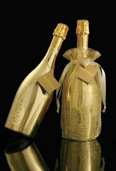 Gold metallic Prosecco from Bottega