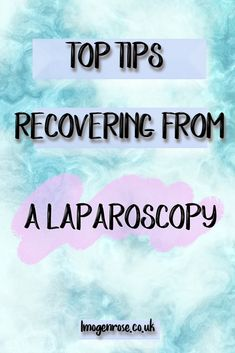 Tips on recovering from a laparoscopy Gallbladder Removal Recovery, After Gallbladder Surgery, Ovarian Cyst Surgery, Fibroid Surgery, Gallbladder Diet, Laparoscopy Endometriosis, Endometriosis Diagnosis, Endometriosis Awareness, Fibromyalgia