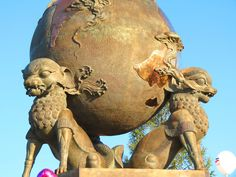 Center of Asia monument, Kyzyl | Tuva Republic