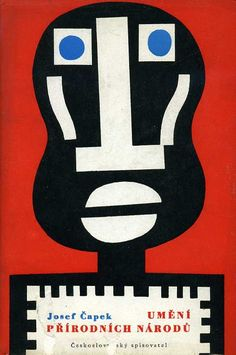 """""""The Art of Primitive Peoples"""" 1957. Cover illustration possibly by Czech…"""