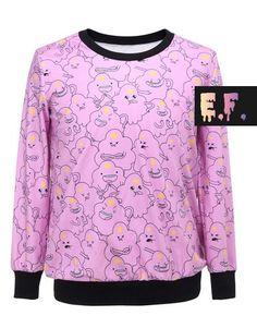 Lumpy Space Princess (Adventure Time) Sweater