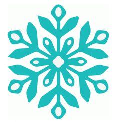 vorlage für schneeflocke eiskristall, z.b. windowcolor