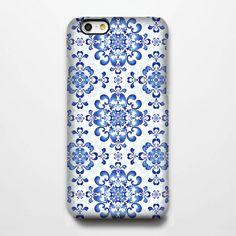 Classic Blue Floral iPhone 6 Plus/6/5S/5C/5/4S/4 Protective Case – Ac.y.c