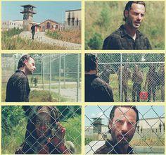 Rick & Michonne, The Walking Dead http://pinterest.com/yankeelisa/the-walking-dead/