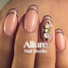 Creative French Manicure Designs ★ See more: http://glaminati.com/french-manicure-designs/