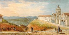 Debret, Jean-Baptiste. Entrada de São Paulo pelo caminho do Rio de Janeiro, 1827