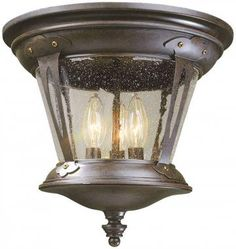 North Hampton Outdoor Flush Mount