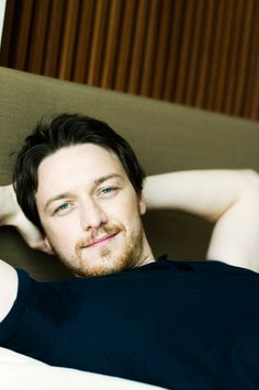 James McAvoy - Don't be mad, Tom. Just look at him. You know you'd pin James too.