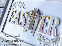 Lets Get Hopping 7 International Blog Hop featuring Anything But a Card. Easter Gifts and Home Decor using Crosses of Hope and Large Letters