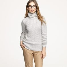 More chunky turtlenecks. I love fall!            My AccountRegisterSign In