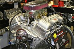 509 Big Block Chevy Engine