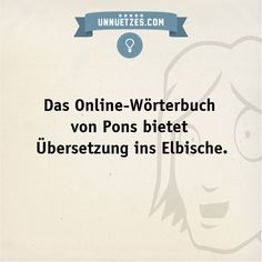 """Den Link dazu und was """"Unnützes Wissen"""" auf Elbisch heißt: http://hub.am/1gYb7VG"""