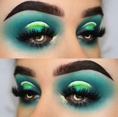 "wearing Glitter Lambs ""Alien"" glitter eyeshadow on her eyes. wearing Glitter Lambs ""Alien"" glitter eyeshadow on her eyes. Glitter Hair, Green Glitter, Glitter Makeup, Glitter Eyeshadow, Eyeshadow Looks, Glam Makeup, Makeup Inspo, Makeup Inspiration, Eyeshadow Makeup"