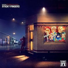 Awesome fun working with the lads from Sticky Fingers on the cover art for their awesome new album Westway (The Glitter & The Slums). Apple Inc, Music Album Covers, Music Albums, Extended Play, Sticky Fingers Band, House Of Balloons, Triple J, Song Of The Year, Cover Band