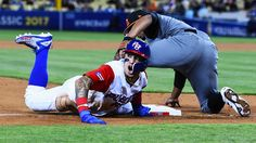 Chicago Cubs infielder Javier Baez has been putting on quite a show in the World Baseball Classic as part of a Puerto Rico squad that has won all seven games they've played thus far, and he added another...