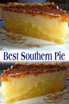 Best Southern Pie Ingredients : c c buttermilk c 1 c sugar large 2 large eggs Southern Desserts, Easy Desserts, Delicious Desserts, Yummy Food, Southern Recipes, Canadian Recipes, English Recipes, French Recipes, Italian Desserts