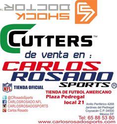the best attitude b9cf8 980ac En Carlos Rosado Sports puedes encontrar productos de la marca Cutters y  Shock Doctor