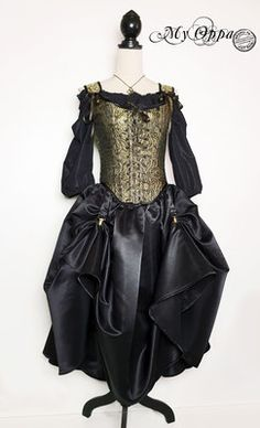 Site officiel My Oppa - site My Oppa Steampunk, Creations, Goth, Victorian, Dresses, Style, Fashion, Fashion Ideas, Outfit