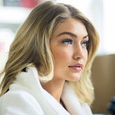 @harpersbazaarus came on set with us for Gigi Hadid's first Maybelline campaign. Read about her favorites, including the new Push Up Mascara.
