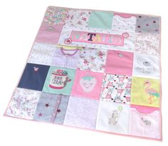 Do you have a box full of your childs baby clothes? Instead of keeping them hidden away I can make you a gorgeous memory blanket from all those babygrows, vests and sleepsuits. Each bespoke memory quilt is unique and special, just like the memories its made up of. They are carefully handcrafted and created just for you; a wonderful baby keepsake to treasure. I aim to preserve as many of the features of the original baby clothes as possible. I want to show off the beautiful necklines of…