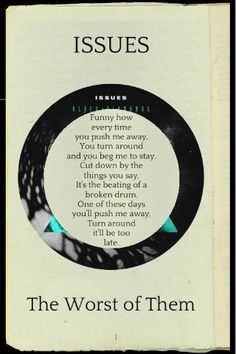 Issues lyrics Love this song so much! <3