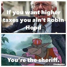 Evil Bernie Sanders