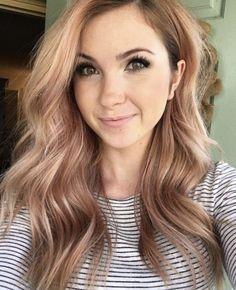Just Perfect 45+ Beautiful Rose Gold Hair Color Ideas Trend 2017 https://www.tukuoke.com/45-beautiful-rose-gold-hair-color-ideas-trend-2017-10446