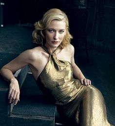 Cate Blanchett - arguably the world's second greatest actress [qv - Naomi Watts] and another Antipodean [qv - Nicole Kidman]. Wondrous.