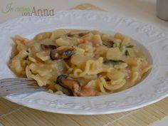 pasta+e+patate,cozze+e+rucola