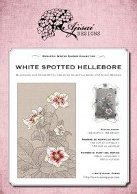 White Spotted Hellebore AjisaiDesigns