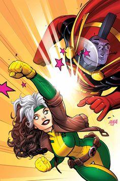 X-Men '92 #8 - Variant cover by David Nakayama