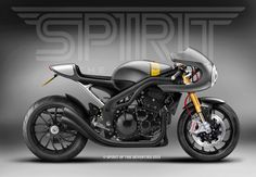 Racing Cafè: Cafè Racer Concepts - Triumph Speed Triple 1050 2008 Cafè Racer by Spirit of the Seventies
