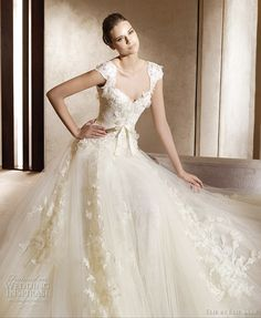 Wedding dress lace dream