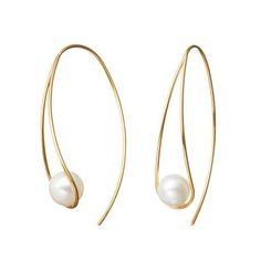 Pearl earrings More