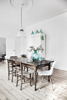 scandi dining room table