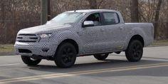 Spy Shots Of the New Generation Ford Ranger - https://carsintrend.com/spy-shots-new-ranger/