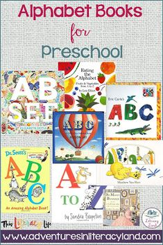 Alphabet books aren't just for the youngest readers. With so many choices, everyone can find one (or more) to enjoy! Different Alphabets, Alphabet Books, Story Elements, Simple Pictures, Mentor Texts, Learning Letters, For Everyone, Student Learning, Lessons Learned