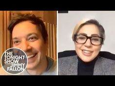 Lady Gaga video chats with Jimmy about quarantining in her offices with her staff, spending her birthday coordinating with Global Citizen and the World Heal. Lady Gaga Gif, Double Down, Global Citizen, Tonight Show, Jimmy Fallon, Love You So Much, Concert, Mansion, Youtube