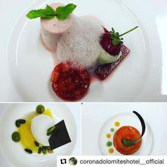"""""""Fare un dolce è come raccontare una storia a una persona speciale... #coronadolomiteshotel #solocosebuone #solocosebelle #fruit #sweets  #Repost @coronadolomiteshotel__official"""