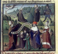 Speculum Historiale, 1463: The story of St. Paphnuce of Heraclea (BNF Fr. 51, fol. 158v). http://visualiseur.bnf.fr/ConsulterElementNum?O=IFN-8100046&E=JPEG&Deb=104&Fin=104&Param=C Description: http://www.larsdatter.com/children.htm
