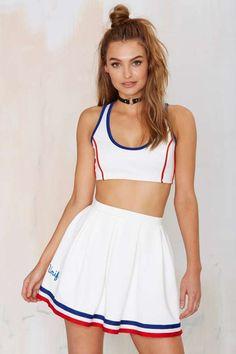 UNIF Squad Skater Skirt