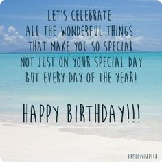 special birthday wishes for someone special